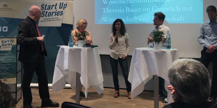 Katharina Brandelik bei den Startup Stories in Tübingen